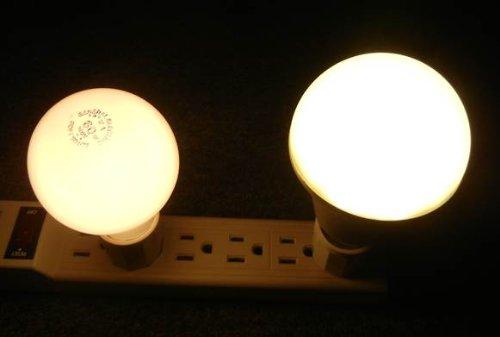 Warm White Light Bulbs: ... G7-Power-G7A21930-900-Lumen-LED-Light-Bulb- ...,Lighting