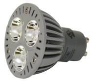 LED-4watt-Par16-GREEN-GU10-120v-Lamp-Bulb-LED4PAR16GU10GNFL20-0